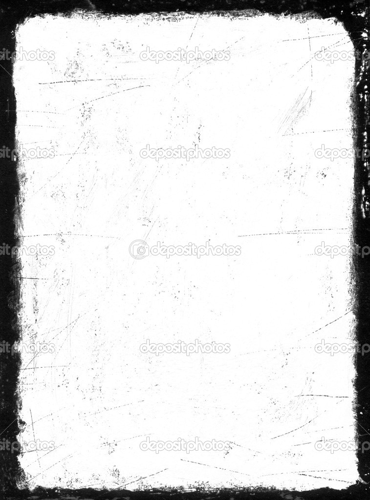 schwarzer Rahmen mit Gouache gemalt — Stockfoto © Antonuk #2273144