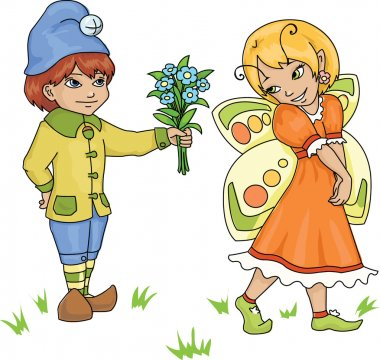 Gnome and fairy