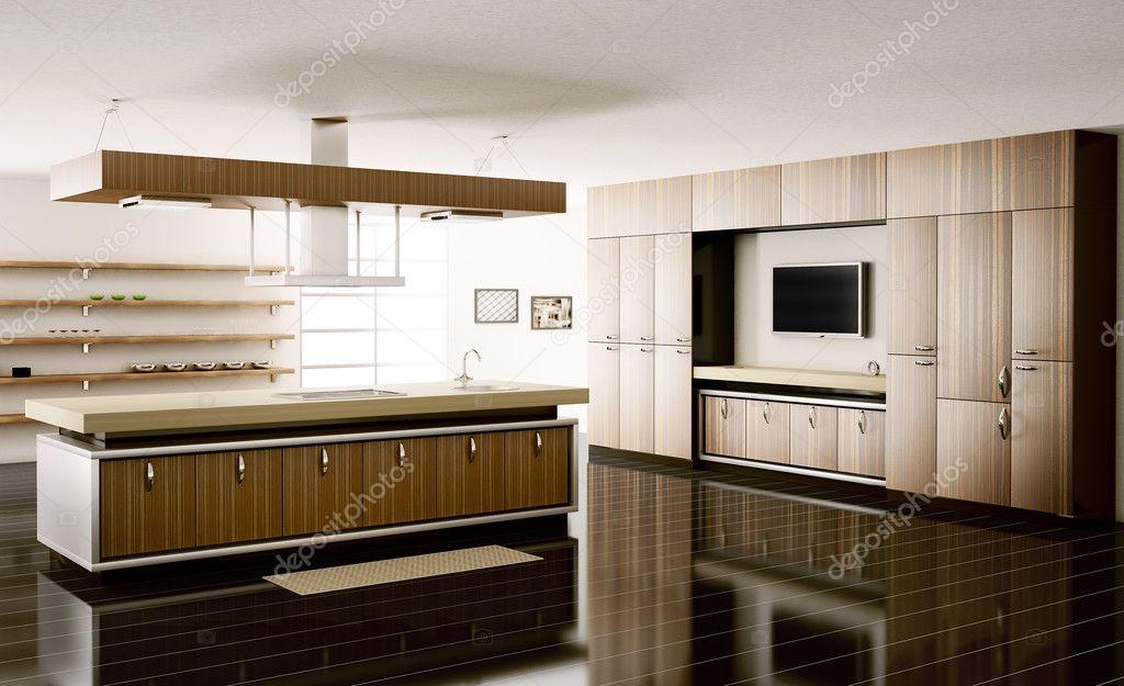3d Fußboden Küche ~ Interieur küche d render u stockfoto scovad