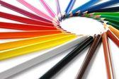 sortiment barevných tužek