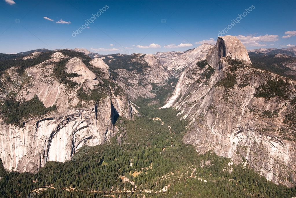 Yosemite national park observation point
