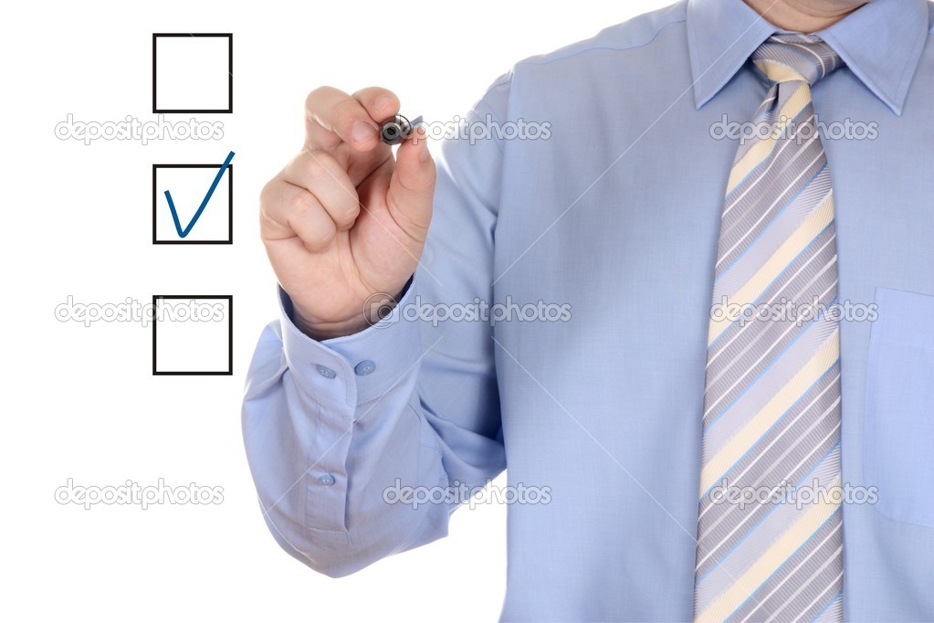 Choosing one of three options