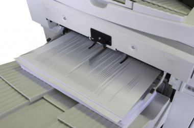 Copier output