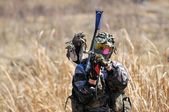 Paintball Player 3