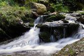 cascata sul fiume di montagna