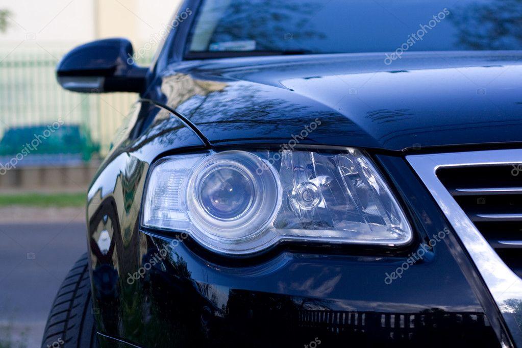 Headlight of the car