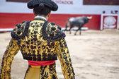 Fotografia Matador con bull ring