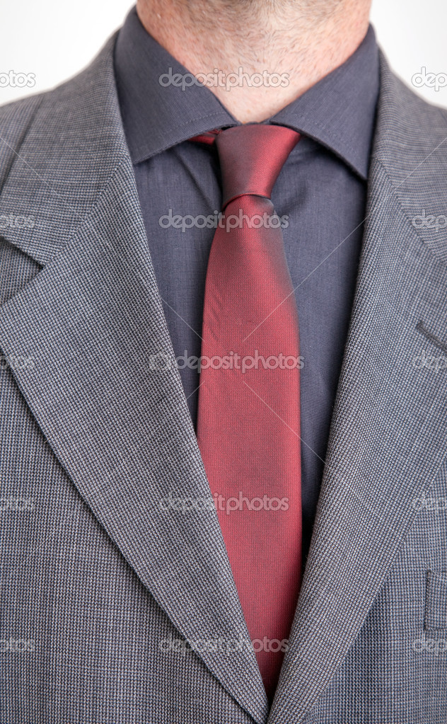 JasOverhemd En De Man In Stockfoto Stropdas © — Feferoni2607975 D9EHWI2Y