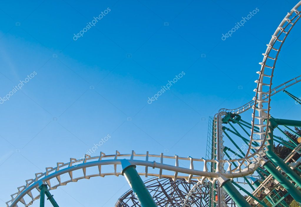 Curved coaster construction III