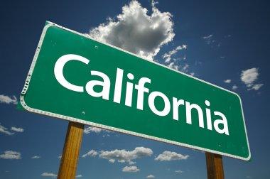 Green California Road Sign