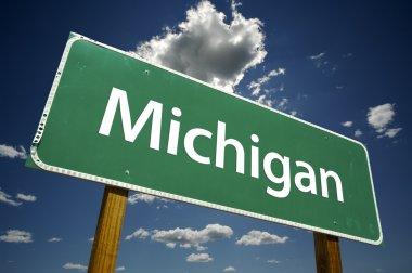 Michigan Road Sign