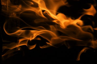 Dramatic Flames Background