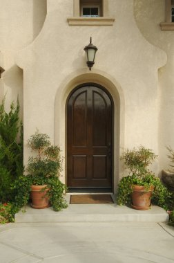 Home Doorway and Patio