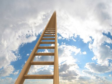 Ladder to the clouds