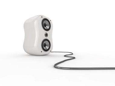 Glossy speaker