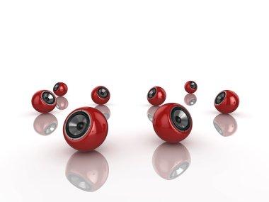 Sphere speakers