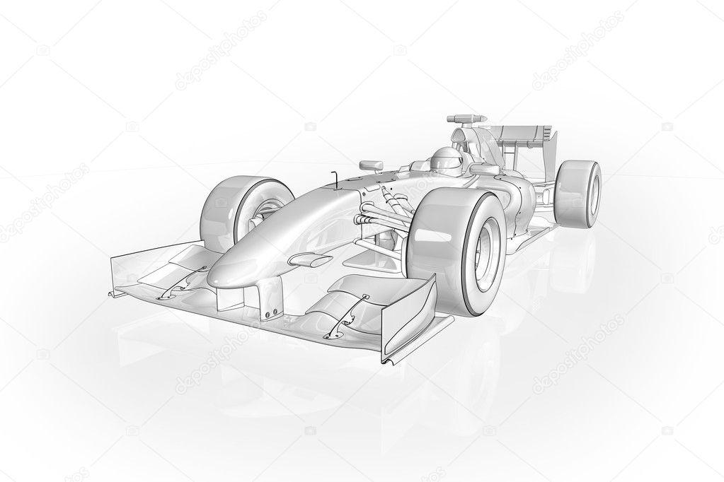 F1 Car Stock Photo C Aspect3d 2694349