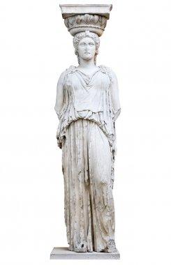 Greek Caryatid from the Erechtheion