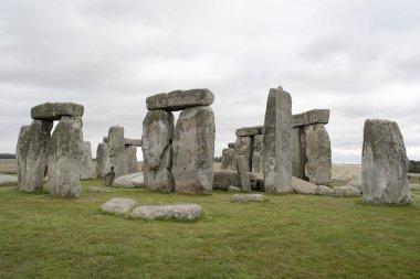 The Stonehenge megalithic monument