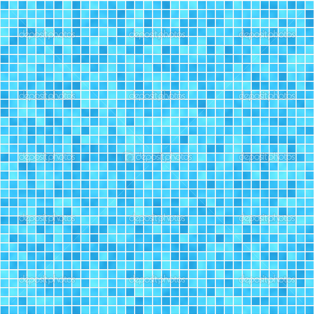 very small tiles in shades of green and blue u2014 stock photo