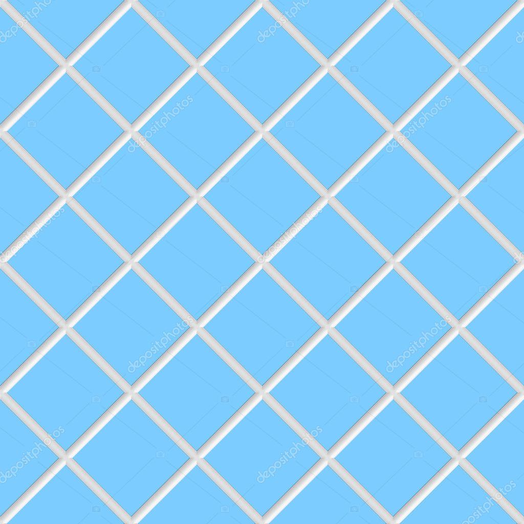Azulejos De Cer 225 Mica Cuadrado Azul Diagonal Textura Foto