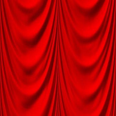 Seamless red drape texture