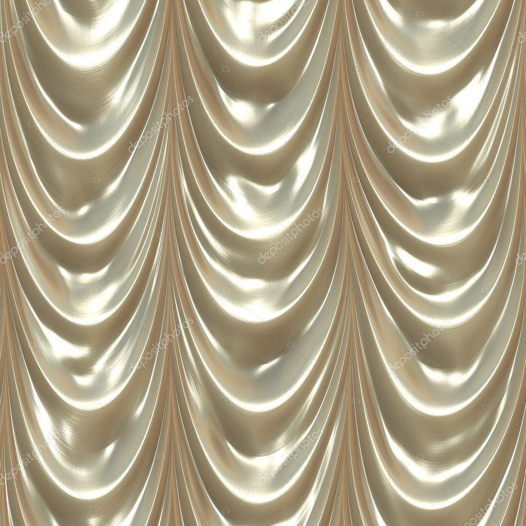 Seamless white drape texture — Stock Photo © kmiragaya