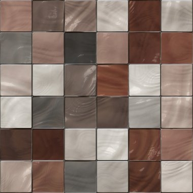 Seamless shiny tiles texture