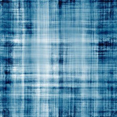 Worn blue fabric texture