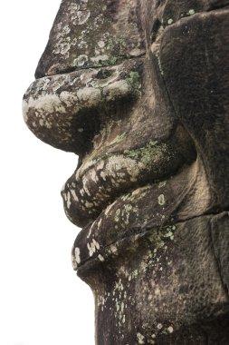 Bayon face, Cambodia