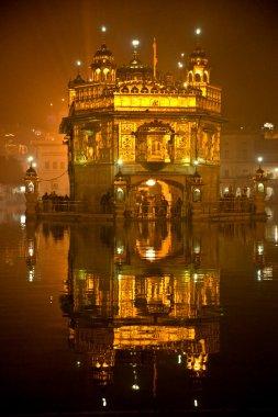 Golden Temple in Amritsar, Punjab, India.