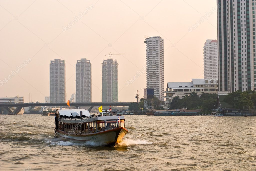 Chao Praya River, Bangkok.