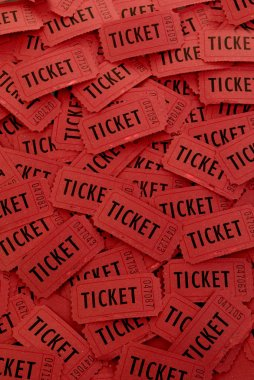 Pile of Red Tickets