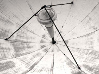 Satellite transmission dish