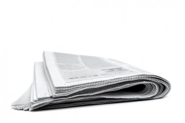 Newspaper Rolled Up