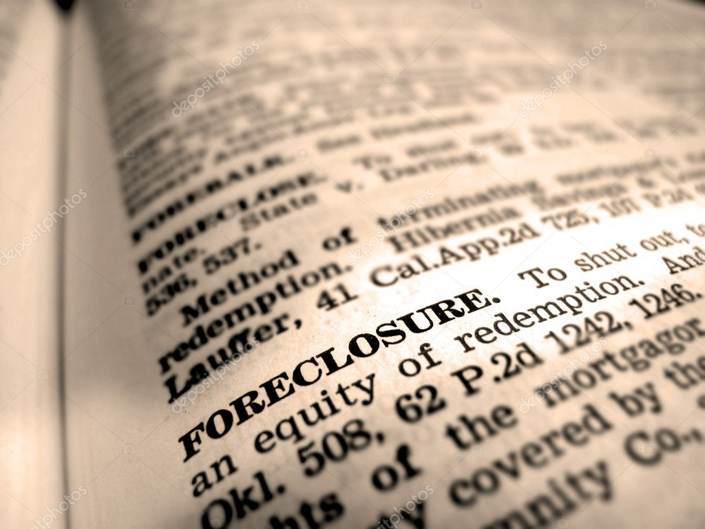 definition of foreclosure — stock photo © eric1513 #2344555