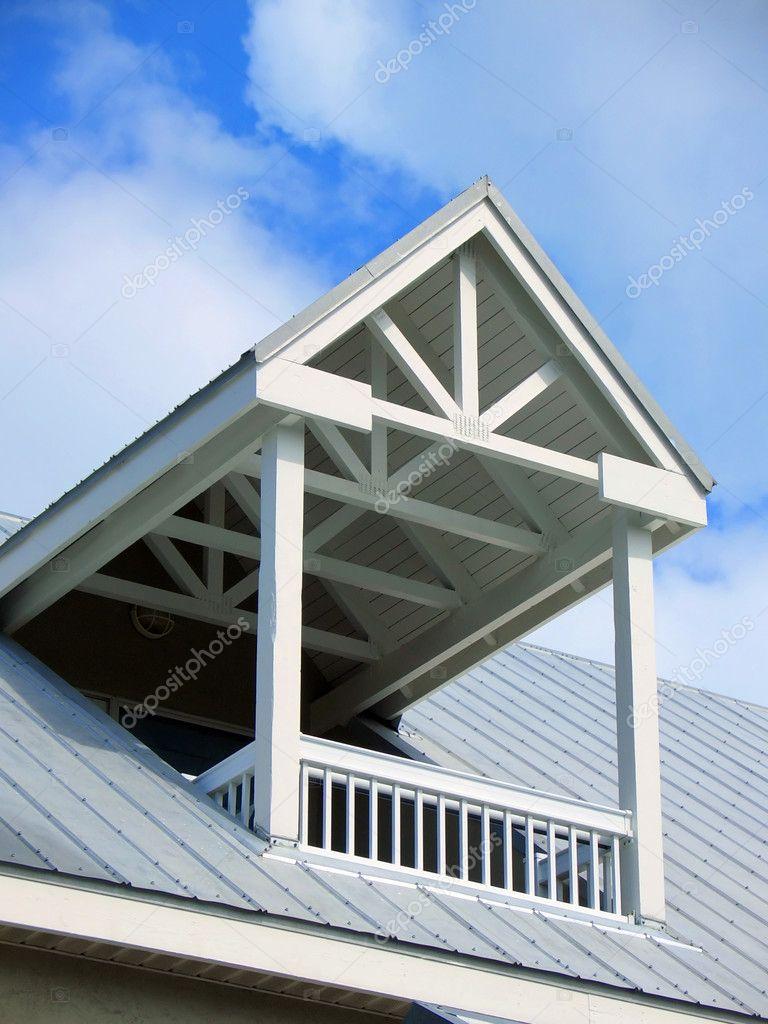 Balkon Dach Zdjecie Stockowe C Msavoia 2351988