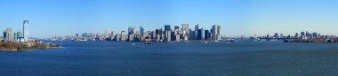 Panoramic view of lower Manhattan