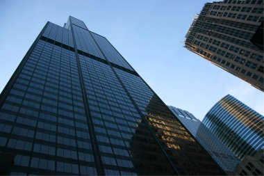 Sears tower from below