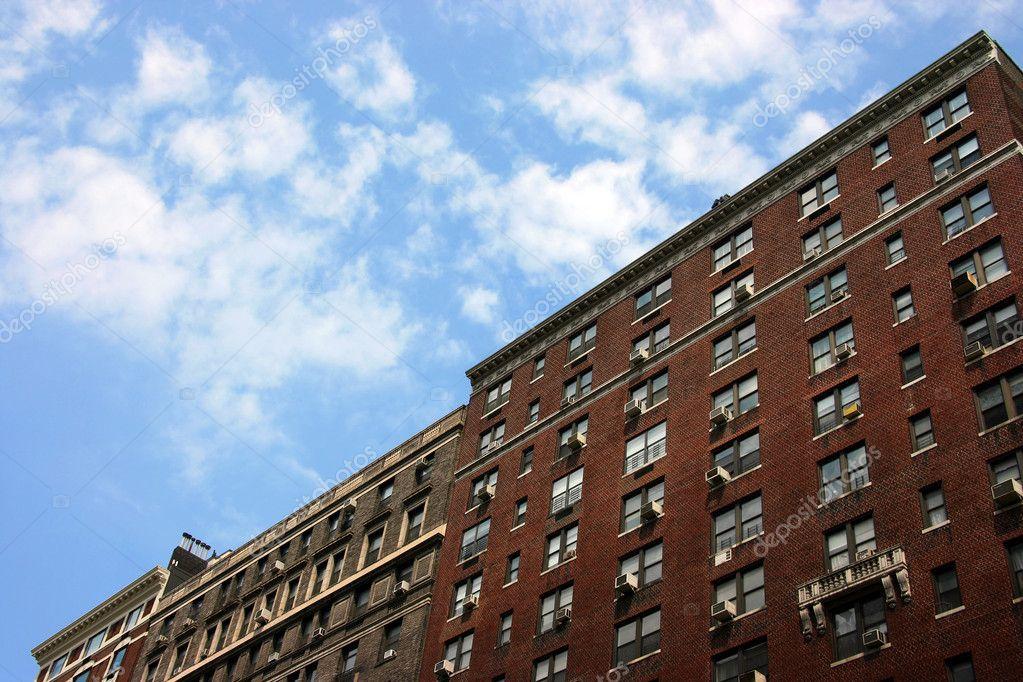 edificios de ladrillo tradicional en park avenue manhattan nueva york u foto de msavoia