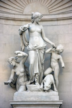 Statue of nymph Thetis
