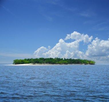 Small tropical island