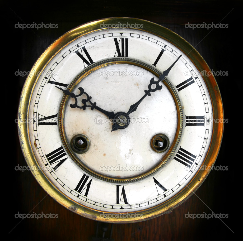 Antique Clock Face Stock Photo 169 Msavoia 2475376