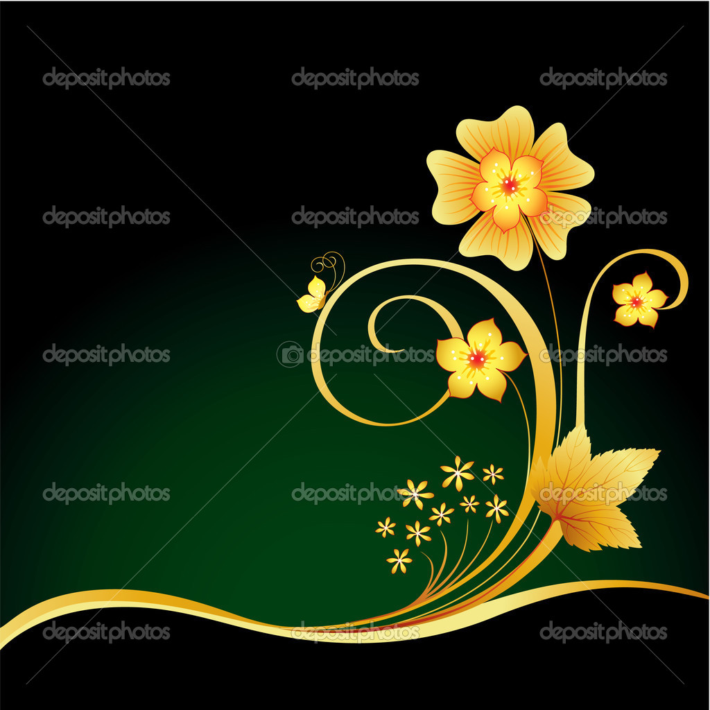 Elegant ornate background