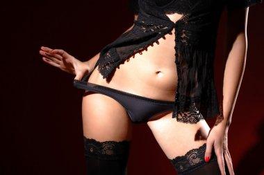 Photo of sexy woman body