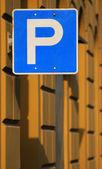 piktogram parkování