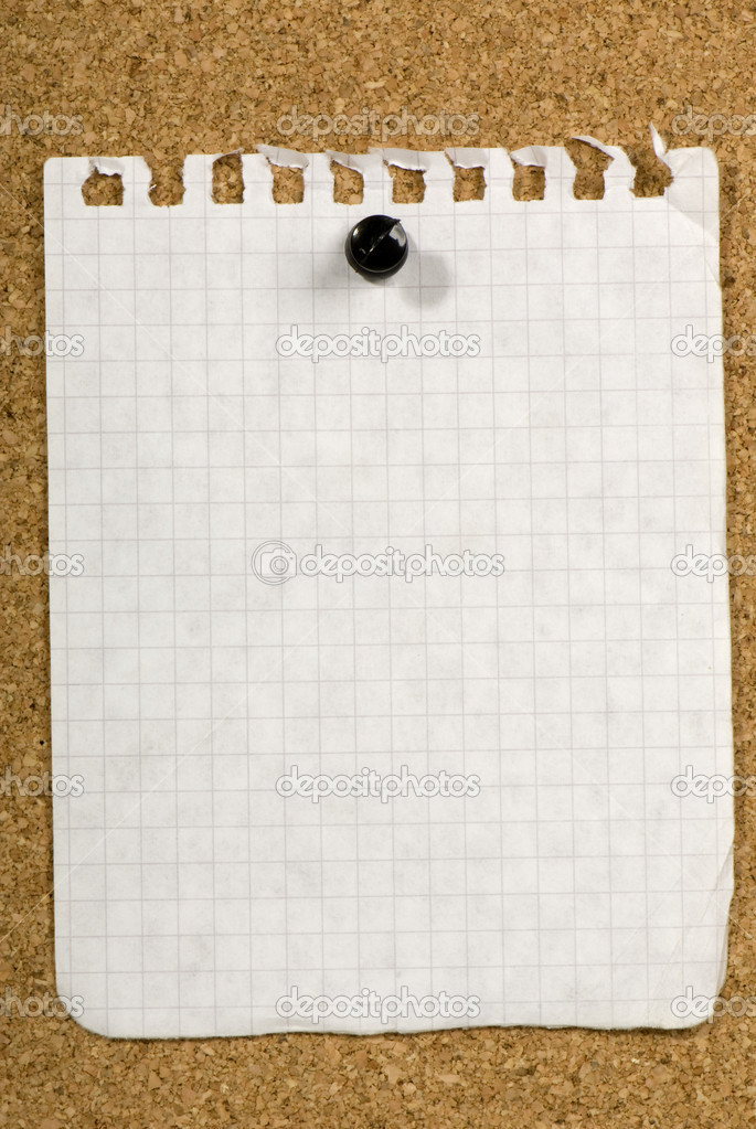 Blank Memo  Stock Photo  Nikitabuida