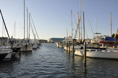 Boats in Chesapeake Bay