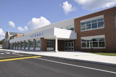 Modern school building