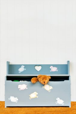 Toy Chest with Teddy